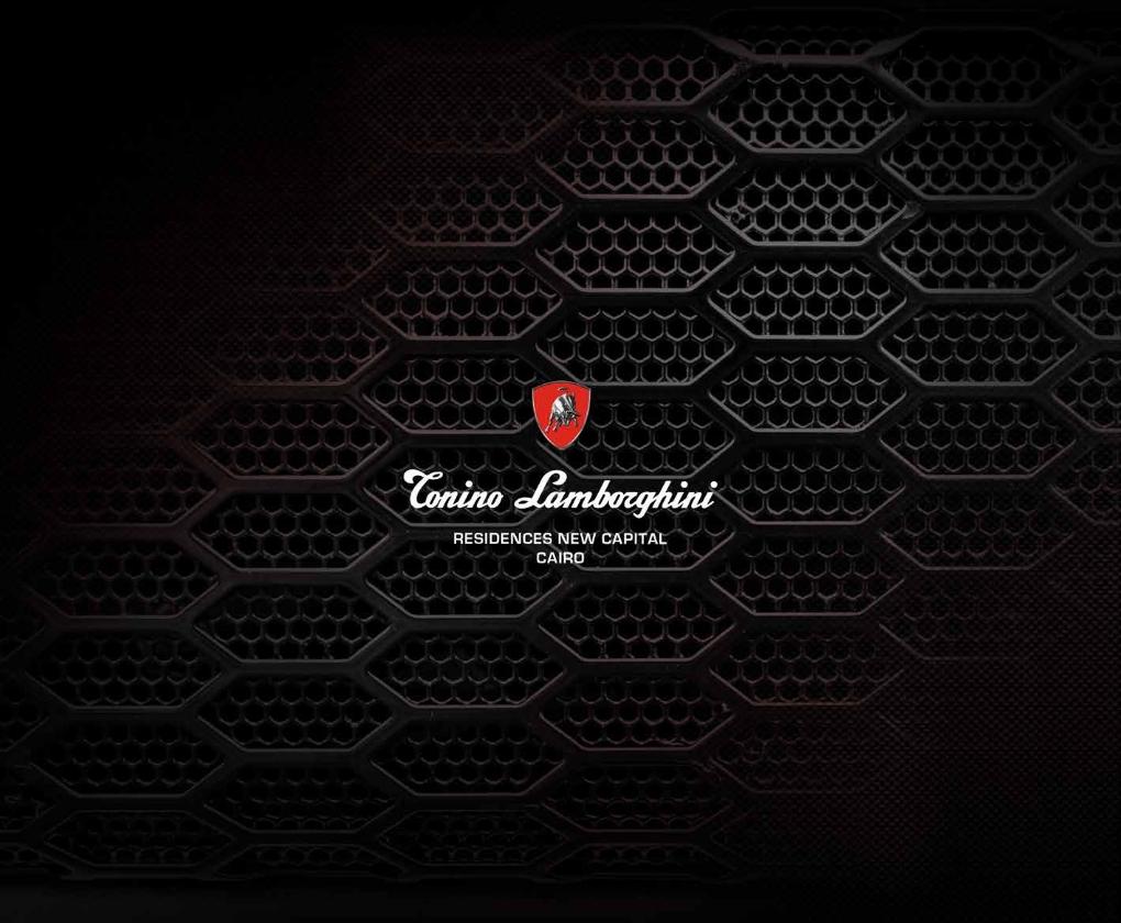Tonino Lamborghini Residence New Capital